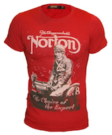 NORTON Men's T-shirt Choice of Experts
